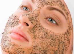 Отшелушивающие средства в уходе за кожей